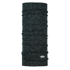 P.A.C. Merino Wool Multitube Paisley Black